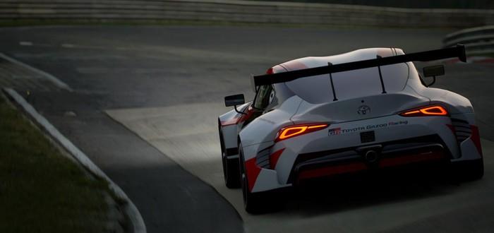 В Gran Turismo Sport добавили прототип Toyota GR Supra Racing