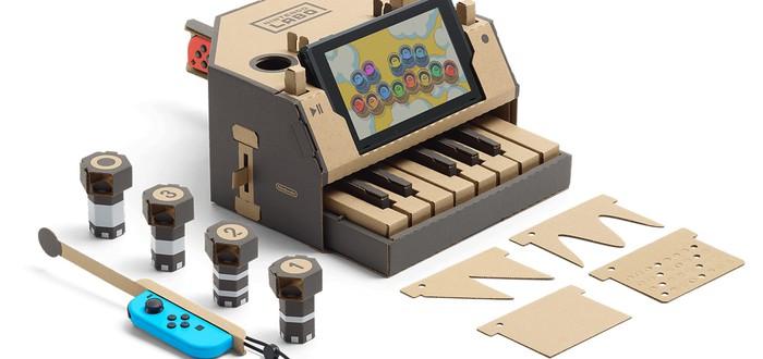 Игрушечный Nintendo Labo позволяет писать взрослую музыку