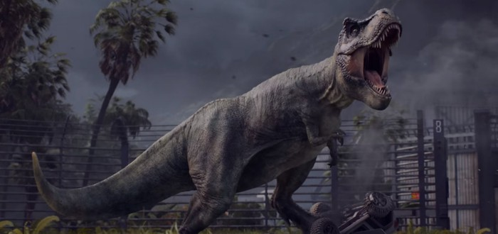 Первые 20 минут Jurassic World Evolution