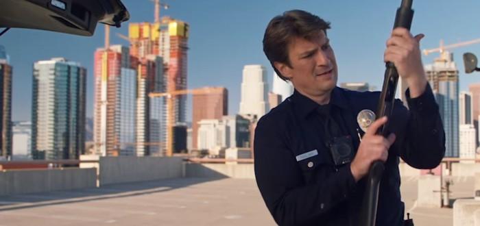 Нэйтан Филлион начинает служить в полиции в сериале Rookie