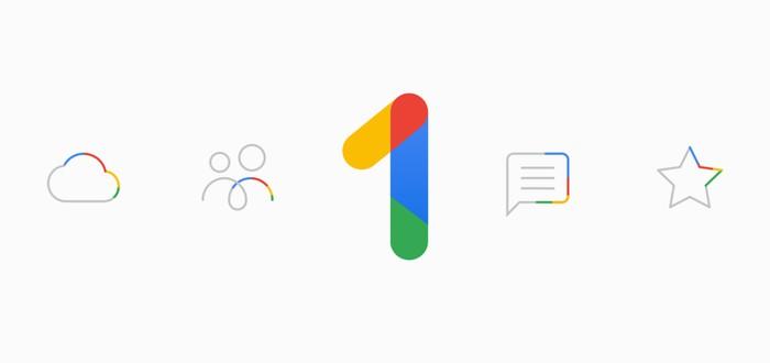 Google Drive не переименован в Google One