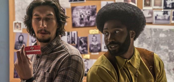 Адам Драйвер уничтожает Ку-клукс-клан в трейлере фильма BLACKkKLANSMAN