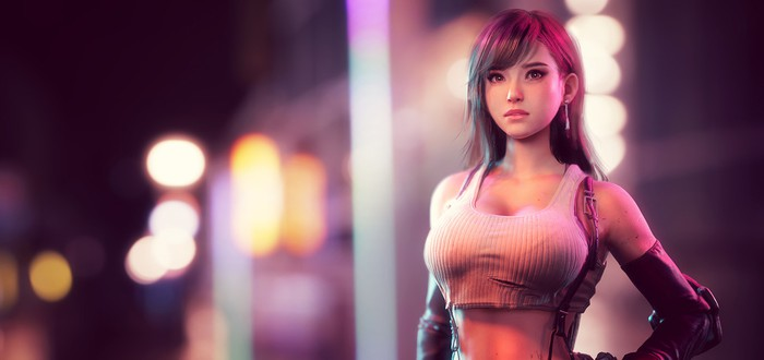 [NSFW] Фанатская версия Тифы Локхарт из Final Fantasy VII