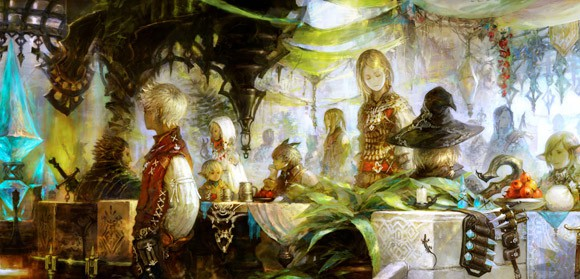 Городская жизнь в Final Fantasy 14