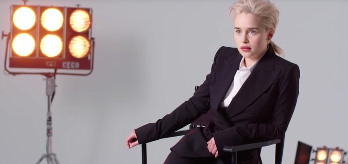 Эмилия Кларк воссоздает стоковые бизнес-фото