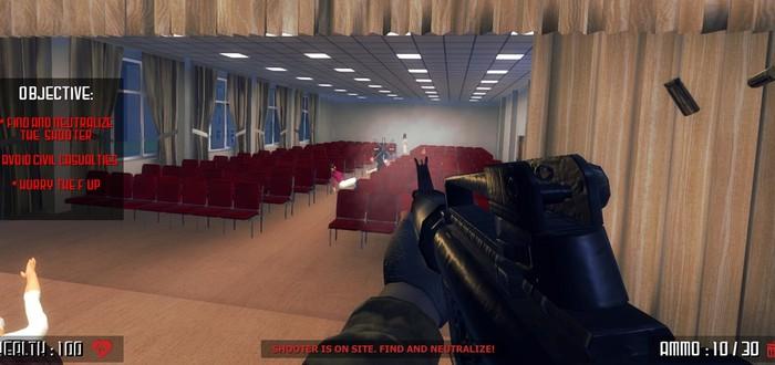 Благотворительная организация попросила Valve убрать из Steam шутер о стрельбе в школах