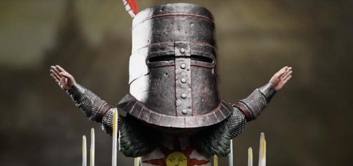 Тизер миниатюрной фигурки Солера из Dark Souls