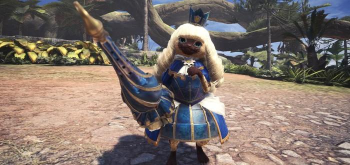 Для Monster Hunter: World вышло обновление с новым боссом