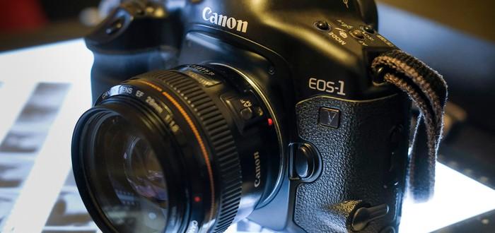 Canon прекращает выпускать плёночные камеры EOS-1V