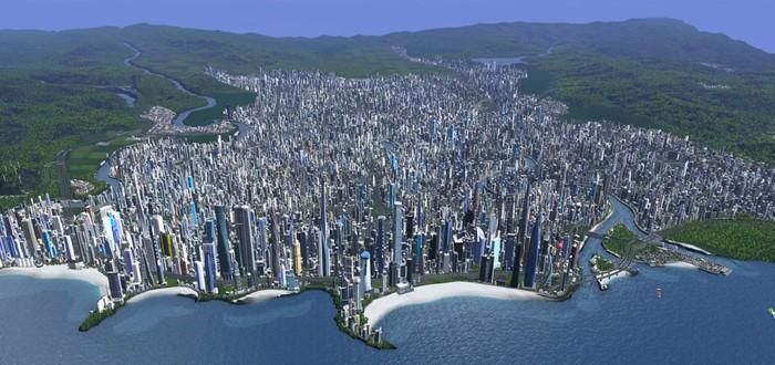 Виртуальный тур по огромному городу в Cities: Skylines