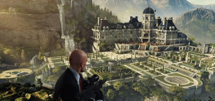 Геймплей первой миссии Hitman 2 Sniper Assassin