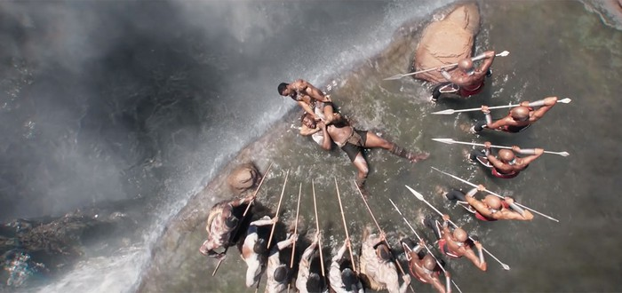 """Как создавались водопады Ваканды в """"Черной Пантере"""""""