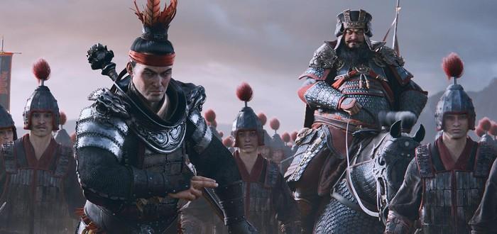 Первый геймплей стратегии Total War: Three Kingdoms