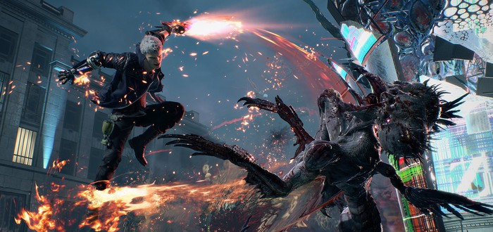 E3 2018: Потрясающие скриншоты и детали Devil May Cry 5