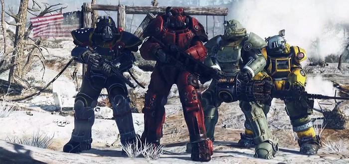 E3 2018: Геймплей Fallout 76 — онлайновая игра и детали