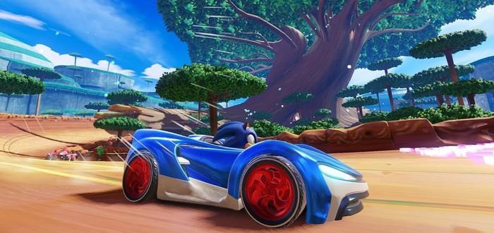 Представлен трейлер Team Sonic Racing с геймплейными кадрами