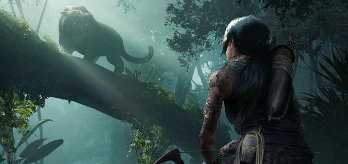 Геймплей PC-версии Shadow of the Tomb Raider