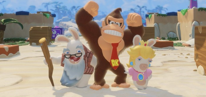 E3 2018: Трейлер дополнения Donkey Kong для Mario + Rabbids Kingdom Battle