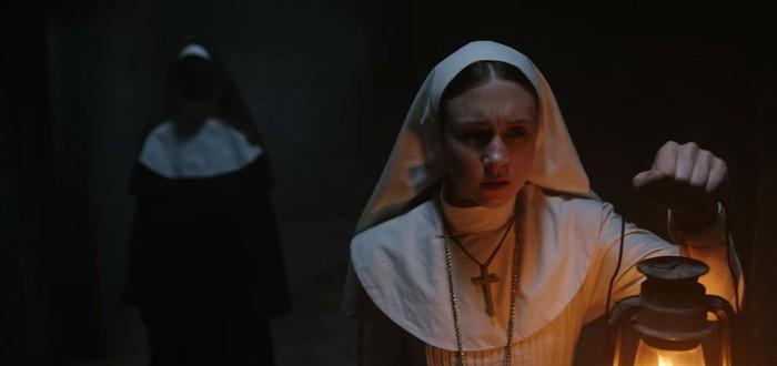 """Дебютный трейлер фильма ужасов """"Проклятие монахини"""""""