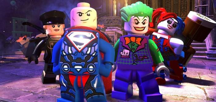 Е3 2018: Геймплей за Харли и Джокера в Lego DC Super Villains