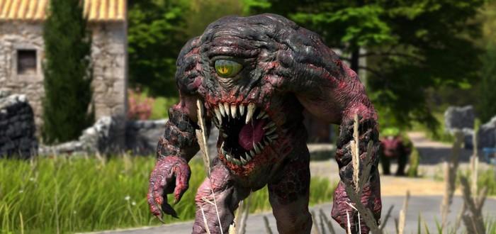 Геймплей пре-альфы Serious Sam 4: Planet Badass с E3 2018