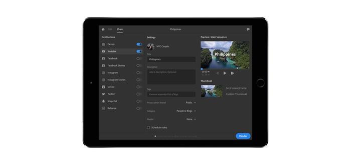 Adobe создает универсальный редактор видео