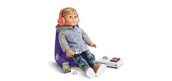 Компания по выпуску кукол представила набор геймера