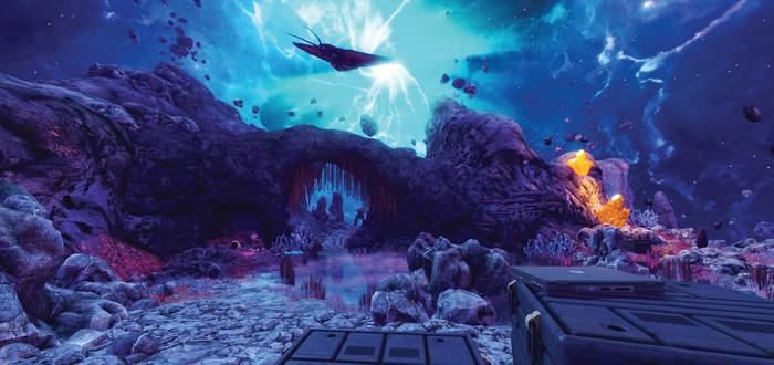 Уровень Xen для Black Mesa на финальной стадии разработки