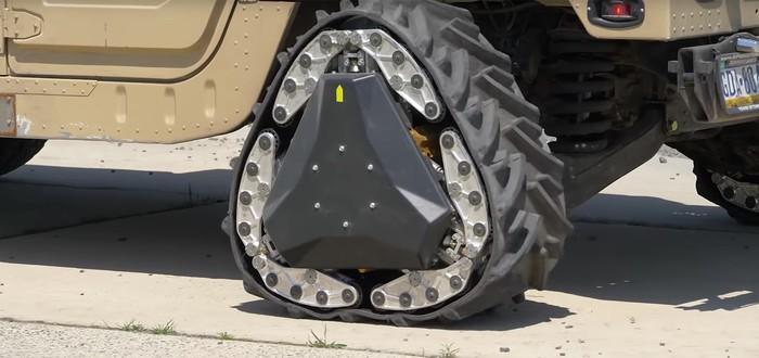 DARPA представила колеса-гусеницы