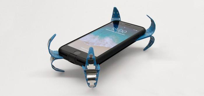 Воздушная подушка для любителей ронять смартфон