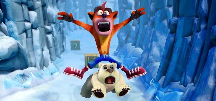 Crash Bandicoot N. Sane Trilogy на вершине британского чарта продаж