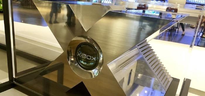 Microsoft выставила прототип оригинального Xbox