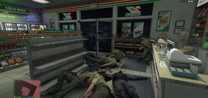 GTA 5 позволила художнику раскрыть тему насилия и оружия в США