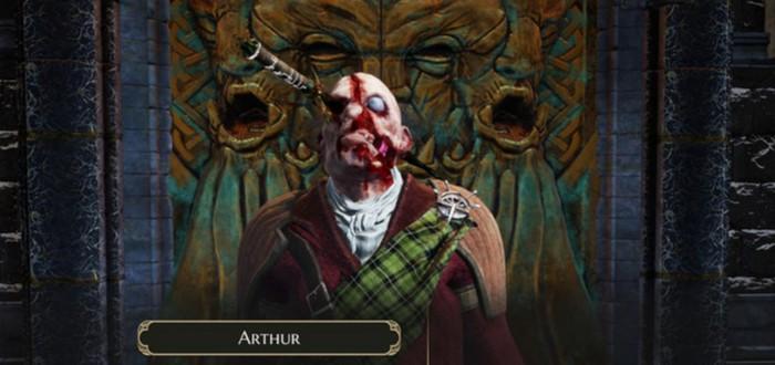 Разработчики The Bard's Tale 4 показали процесс создания персонажа
