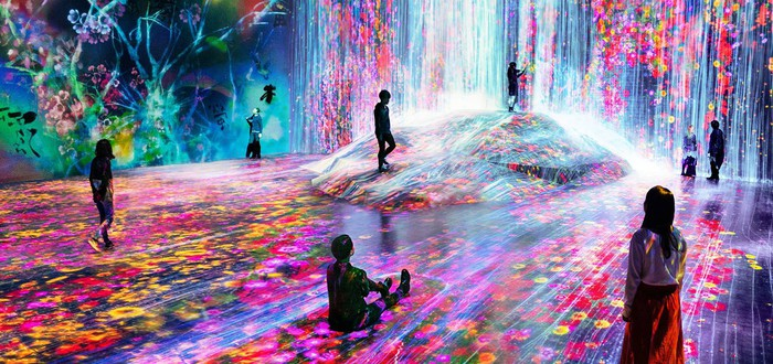 В Токио открылся музей цифрового психоделического искусства