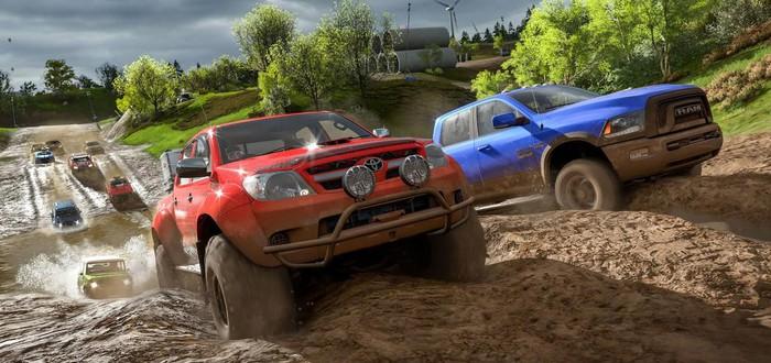В новом геймплее Forza Horizon 4 показали редактор персонажей и летний сезон