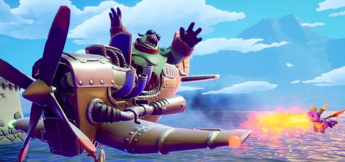 Новый геймплей Spyro Reignited Trilogy