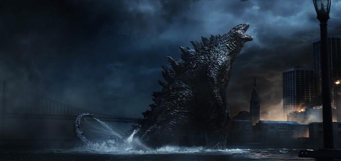 Годзилла извергает огненное пламя на первом кадре Godzilla: King of the Monsters