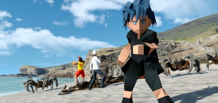 Моддер добавил в Final Fantasy XV ретро-облик для Ноктиса