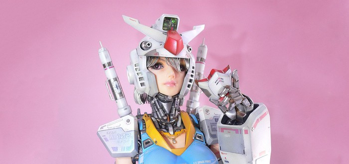 Если бы Барби была фигуркой Gundam