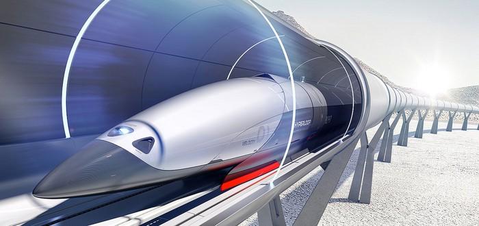 Hyperloop построит 10-километровую трассу в Китае