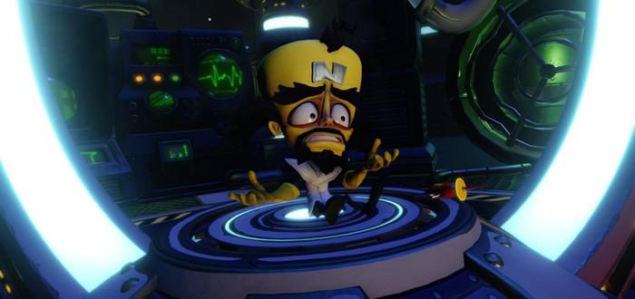 Crash Bandicoot N. Sane Trilogy удерживает первенство в UK-чарте