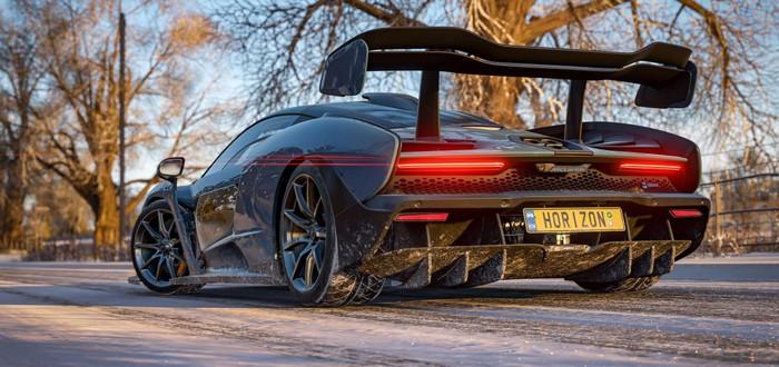 Зимний геймплей Forza Horizon 4