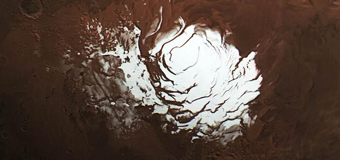 Ученые считают, что нашли на Марсе жидкую воду