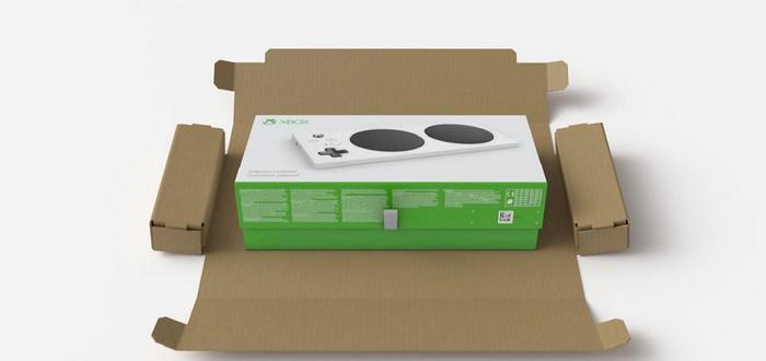 Microsoft сделала упаковку для Xbox Adaptive Controller особенной