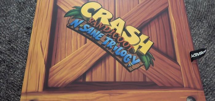 Для Nintendo Switch выпустили коллекционное издание Crash Bandicoot N. Sane Trilogy