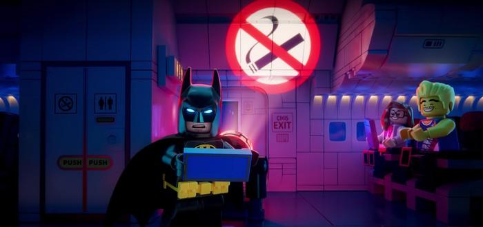 Бэтмен, Супермен и другие персонажи мультфильмов Lego говорят о безопасности в самолете
