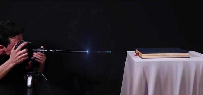 Креативная съемка на объектив-зонд