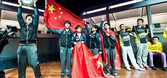 IG выиграл Na'Vi 3-1 в гранд финале The International 2012