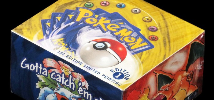 Невскрытую коробку карт с покемонами 1999 года продали за 56 тысяч долларов